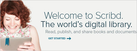 scribd to publish pdf as online ebooks