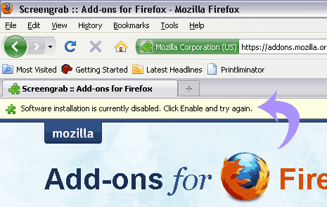 firefox-plugin-disable-message