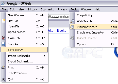 qtweb-browser-settings