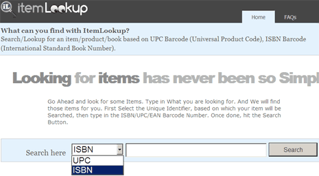 item-lookup-isbn-upc