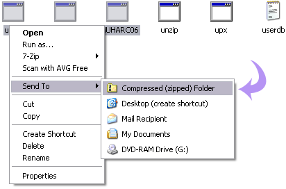 How to Zip, Unzip files & folder on Windows