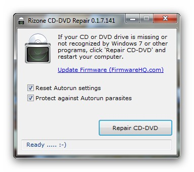 fix cd  dvd drive missing issue in windows