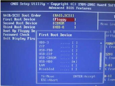 Install Windows XP using bootable USB drive