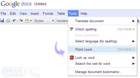 Count Words Characters In Google Docs Document