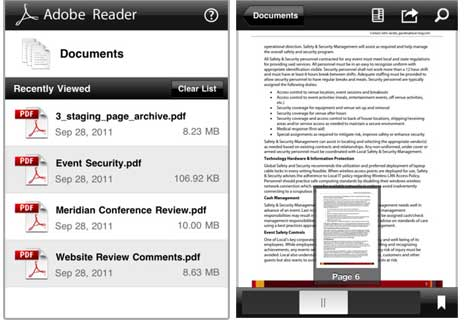 Adobe Pdf Reader For Ipad