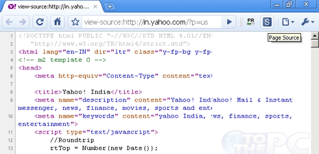 View Webpage Source Code In Chrome In Single Click