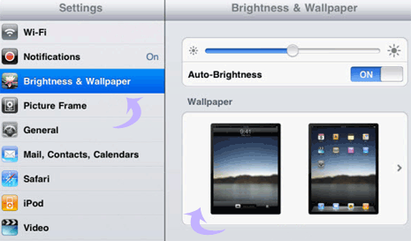How To Change Background Wallpaper On Ipad