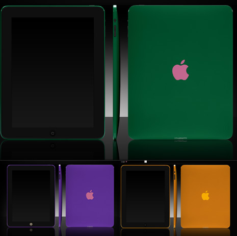 Customize iPad body case color with ColorWare