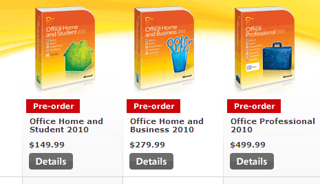 buy microsoft office professional 2010