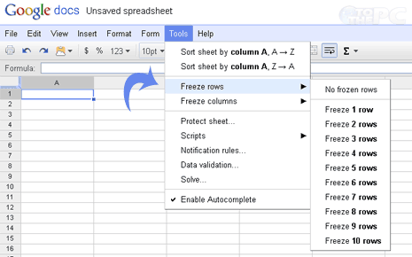 google images freezes firefox. Freeze Spreadsheet rows & columns. 1. Login into Google Docs at