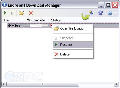Microsoft Download Manager for faster file downloads on Windows