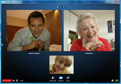 skypes call chat video
