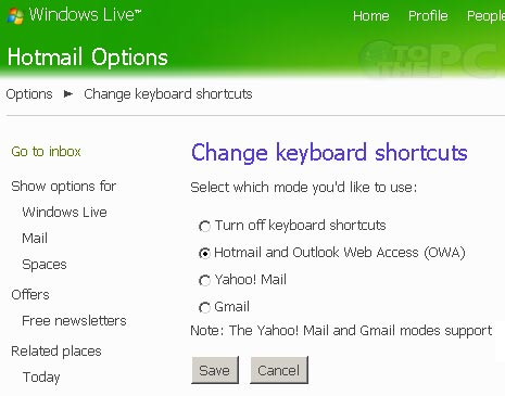 click to select turn off keyboard shortcuts to disable: http://www.tothepc.com/archives/enable-disable-keyboard-shortcuts-in-windows-live-mail/