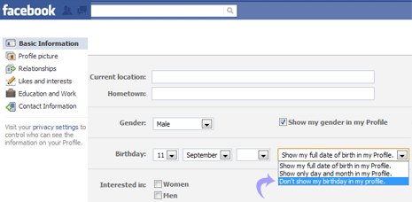 how can i hide my photos in facebook