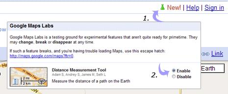 Measure distance on Google Maps on land area measurement tool, button measurement tool, google earth measurement tool, distance measurement tool,