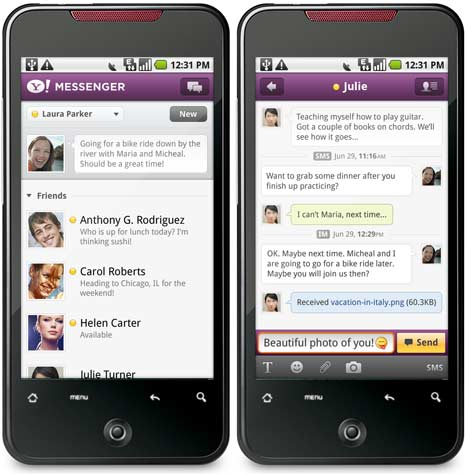 Download yahoo messenger for phone free