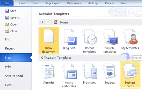 Create print business cards in ms word make business cards in microsoft word colourmoves