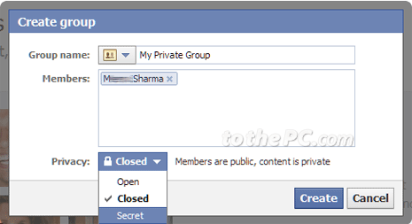 How to create Groups on Facebook