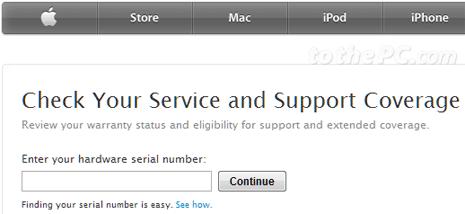 Identify MacBook pro model type