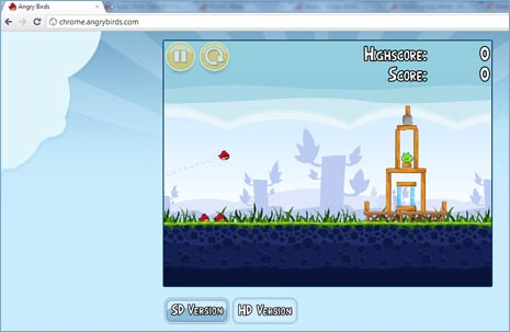 Play angry birds game online free on web 2 alternatively you can install angry birds voltagebd Choice Image