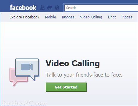 How to setup Facebook video calling feature