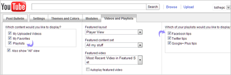 How to create Playlist of Youtube videos