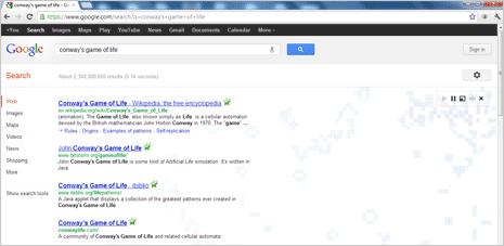 Игры поиск google