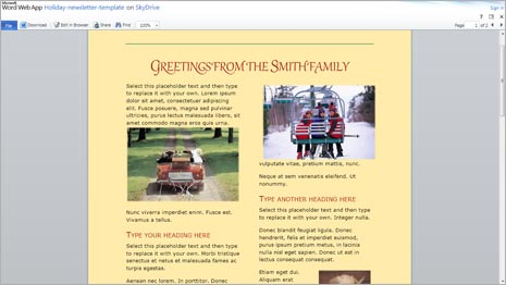 Ms Office Newsletter Kleobeachfixco - How to make a newsletter template