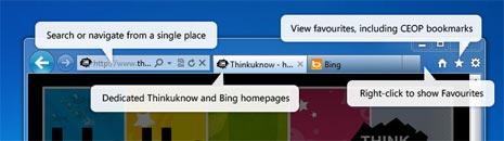 Internet Explorer – IE 9 kids safe browser