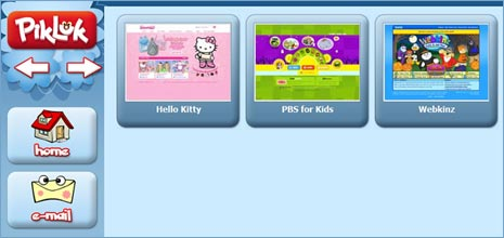 PikLuk – Kids safe Internet