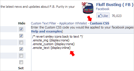 How To Disable Smileys In Facebook Chat Comments