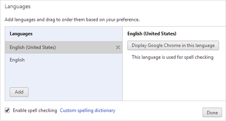 chrome-spell-checker