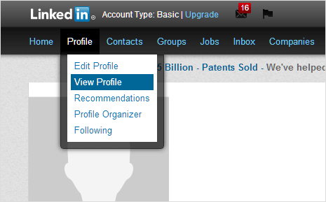 linkedin-view-profile