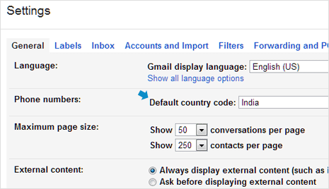 gmail-phone-country-code