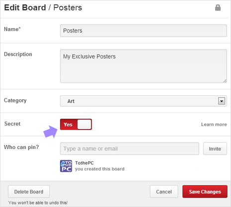 Pinterest-private-boards
