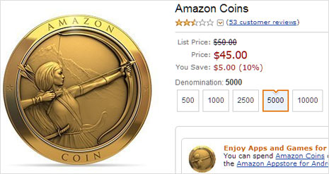 buy amazon coins and save upto 10%