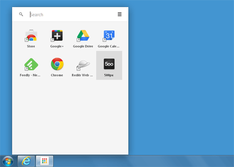 chrome apps launcher icons