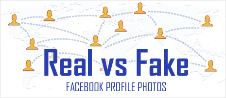 Real or Fake Facebook Profile photos