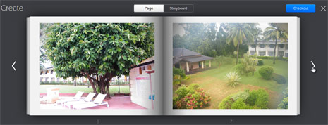 Customize photo book with Flickr Photos
