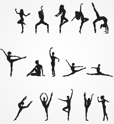 Female-dancing-silhouette-icons