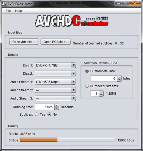avchd-calculator-program