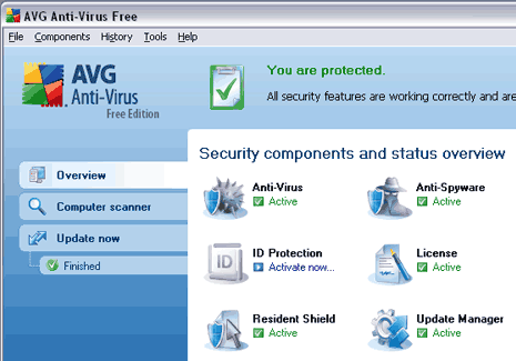 how to  free antivirus software for windows 7