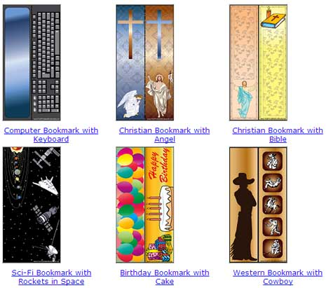 Download Printable Bookmarks For Book Reading Breaks