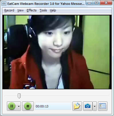 ... record video chat webcam videos from MSN, ICQ, AIM and Yahoo Messenger.