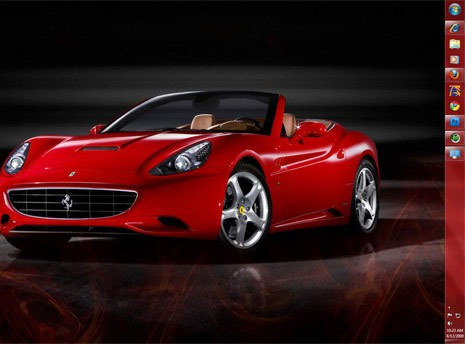 ferrari-car-window7-theme. Related - Official Windows 7 Themes, Wallpapers &