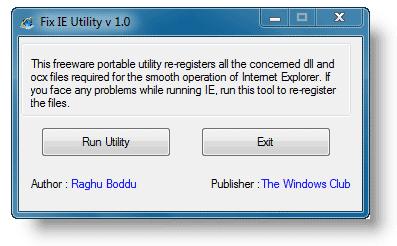 fix-ie-utility