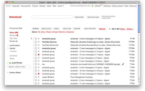 gmail-Minimalist-look