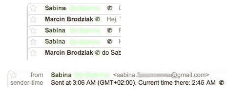 gmail-sender-time-zone