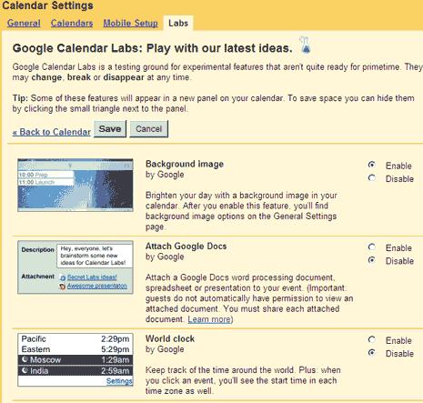google-calendar-labs-features