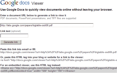google-docs-viewer-tool